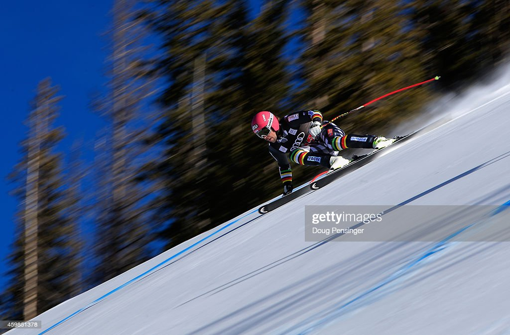 <a gi-track='captionPersonalityLinkClicked' href=/galleries/search?phrase=Andreas+Romar&family=editorial&specificpeople=6734606 ng-click='$event.stopPropagation()'>Andreas Romar</a> of Finland descends the course during men's downhill training for the Audi FIS World Cup on the Birds of Prey on December 2, 2014 in Beaver Creek, Colorado.