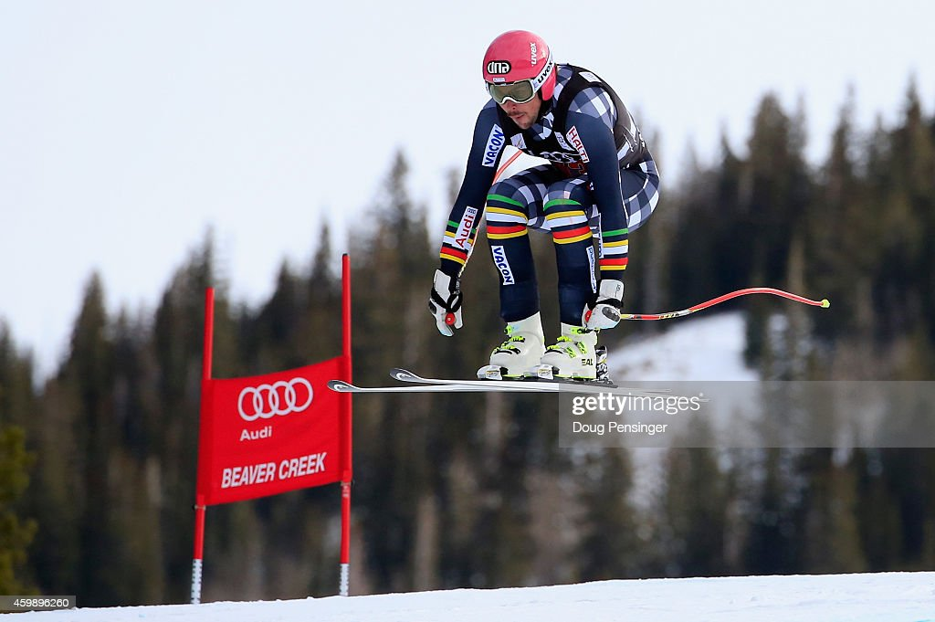<a gi-track='captionPersonalityLinkClicked' href=/galleries/search?phrase=Andreas+Romar&family=editorial&specificpeople=6734606 ng-click='$event.stopPropagation()'>Andreas Romar</a> of Finland descends the course during men's downhill training for the Audi FIS World Cup on the Birds of Prey on December 3, 2014 in Beaver Creek, Colorado.