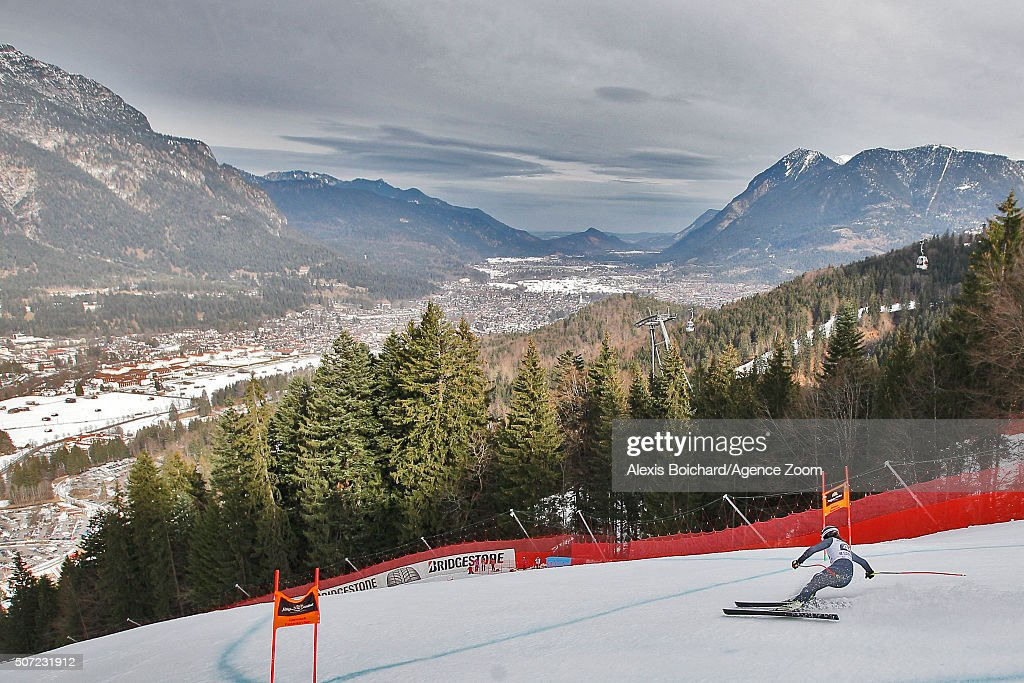 <a gi-track='captionPersonalityLinkClicked' href=/galleries/search?phrase=Andreas+Romar&family=editorial&specificpeople=6734606 ng-click='$event.stopPropagation()'>Andreas Romar</a> of Finland in action during the Audi FIS Alpine Ski World Cup Men's Downhill Training on January 28, 2016 in Garmisch-Partenkirchen, Germany.