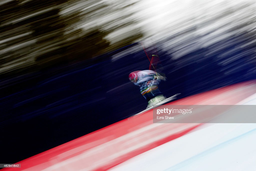 <a gi-track='captionPersonalityLinkClicked' href=/galleries/search?phrase=Andreas+Romar&family=editorial&specificpeople=6734606 ng-click='$event.stopPropagation()'>Andreas Romar</a> of Finland races during the Men's Downhill on the Birds of Prey racecourse on Day 6 of the 2015 FIS Alpine World Ski Championships on February 7, 2015 in Beaver Creek, Colorado.