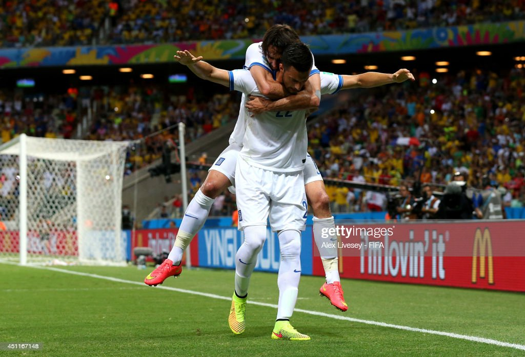 Greece v Cote D'Ivoire: Group C - 2014 FIFA World Cup Brazil