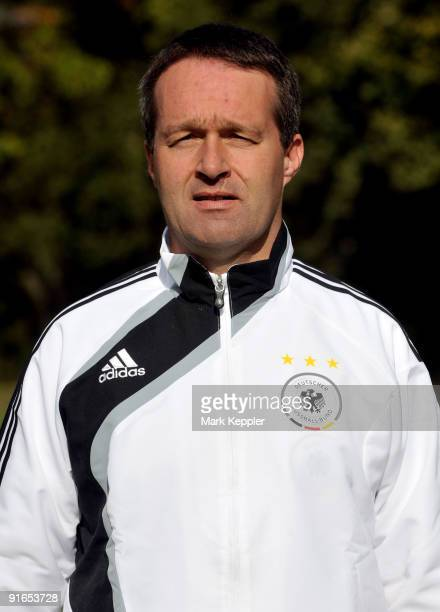 Andreas Schlumberger poses during the U18 National Team Presentation on October 9 2009 in Herzlake Germany