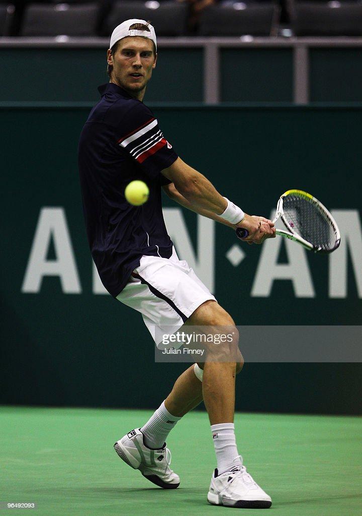 ABN AMRO World Tennis Tournament - Day One