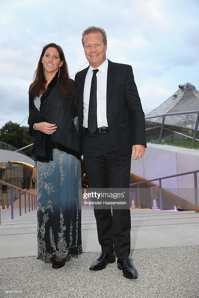 Andreas Steinfatt arrives at the red carpet prior the Laureus Sport for Good Night 2013 at Munich Olympiahalle on September 20, 2013 in Munich, Germany.