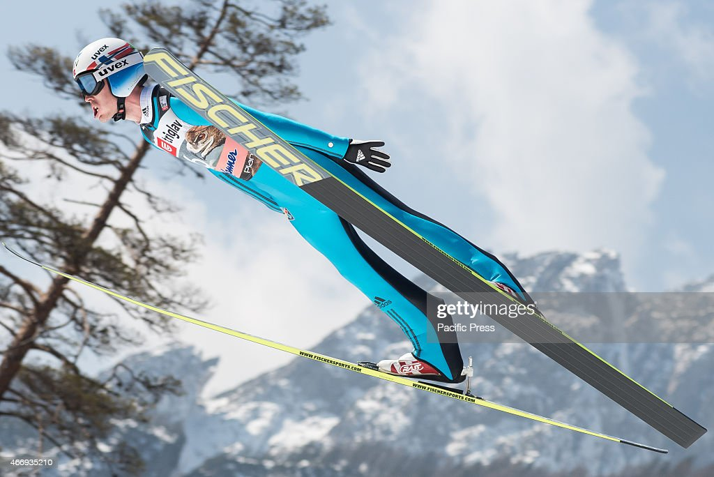 <a gi-track='captionPersonalityLinkClicked' href=/galleries/search?phrase=Andreas+Stjernen&family=editorial&specificpeople=6693989 ng-click='$event.stopPropagation()'>Andreas Stjernen</a> of Norway competes during FIS World Cup Planica Flying Hill Individual Ski Jumping. Ski jumping is a form of nordic skiing in which athletes descend a take-off ramp, called an inrun, jump, and fly as far as possible. Points are awarded for distance and style.