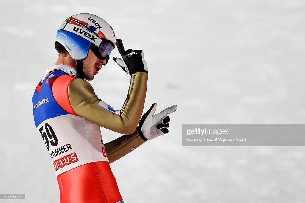 <a gi-track='captionPersonalityLinkClicked' href=/galleries/search?phrase=Andreas+Stjernen&family=editorial&specificpeople=6693989 ng-click='$event.stopPropagation()'>Andreas Stjernen</a> of Norway takes 3rd place during the FIS Nordic World Cup Men's Ski Jumping HS138 on December 05, 2015 in Lillehammer, Norway.