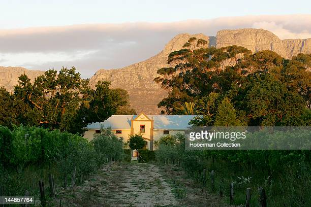 Andreas Wines building on historical farm in Bovlei just outside Wellington on South Africa's Wine Route