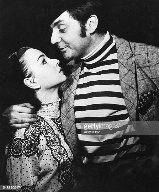 Andree Ingrid Actress Germany * nee Ingrid Tilly Unverhau as Julie with actor Harald Juhnke as Liliom in the play with the same name by Ferenc Molnar...