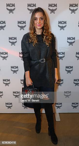Andreea Cristea attends MCM's London Flagship Opening Party on December 6 2016 in London England