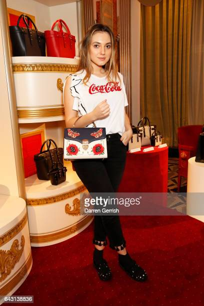 Andreea Cristea attends the Aspinal of London Press Day on February 20 2017 in London England