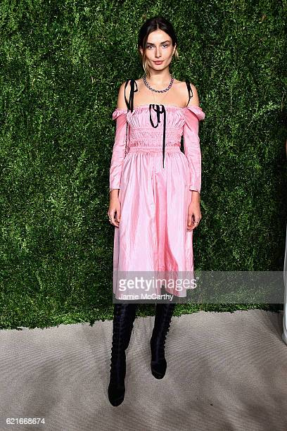Andreea Diaconu attends 13th Annual CFDA/Vogue Fashion Fund Awards at Spring Studios on November 7 2016 in New York City