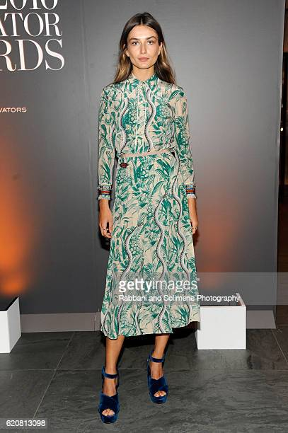 Andreea Diaconu attends the WSJ Magazine 2016 Innovator Awards at Museum of Modern Art on November 2 2016 in New York City