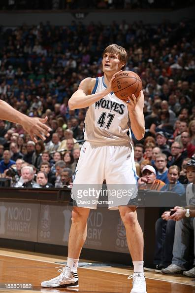 Andrei Kirilenko of the Minnesota Timberwolves protects the ball during the game between the Minnesota Timberwolves and the Phoenix Suns during the...