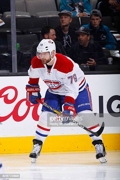 Andrei Markov of the Montreal Canadiens skates against the San Jose Sharks at SAP Center on December 2 2016 in San Jose California