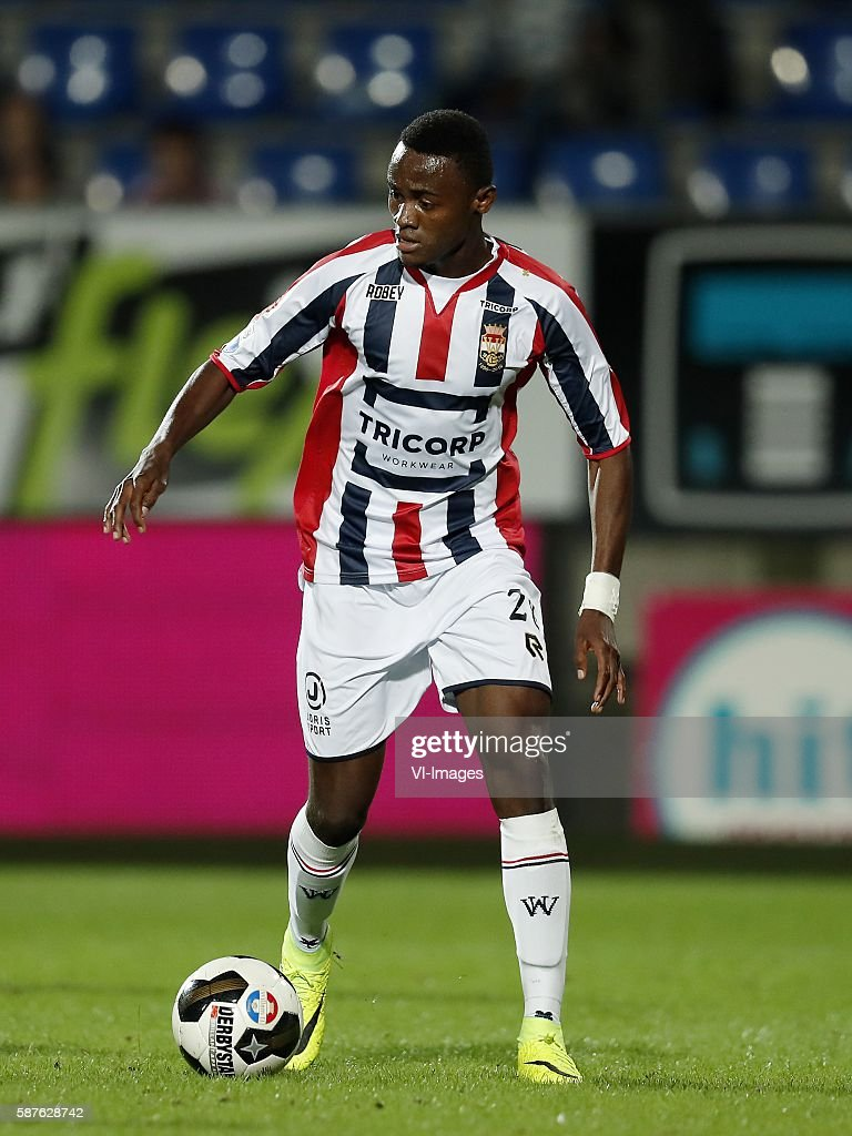 Andreias Calcan of Willem II during the Dutch Eredivisie match between Willem II and Vitesse on august 6 2016 at the Koning Willem II stadium in...