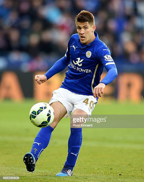 Andrej Kramaric of Leicester City during the Barclays Premier League match between Leicester City and Hull City at The King Power Stadium on March 14...
