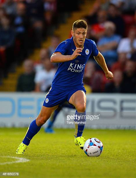 Andrej Kramaric of Leicester City during the Pre Season Friendlly match between Lincoln City and Leicester City at Sincil Bank Stadium on July 21...
