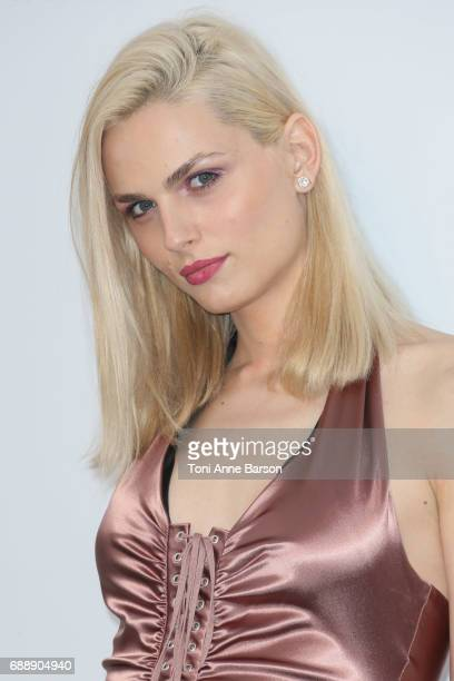 Andreja Pejic arrives at the amfAR Gala Cannes 2017 at Hotel du CapEdenRoc on May 25 2017 in Cap d'Antibes France