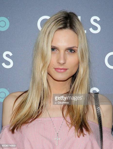 Andreja Pejic attend The New York Premiere Of The Sixth Final Season Of 'Girls' at Alice Tully Hall Lincoln Center on February 2 2017 in New York City