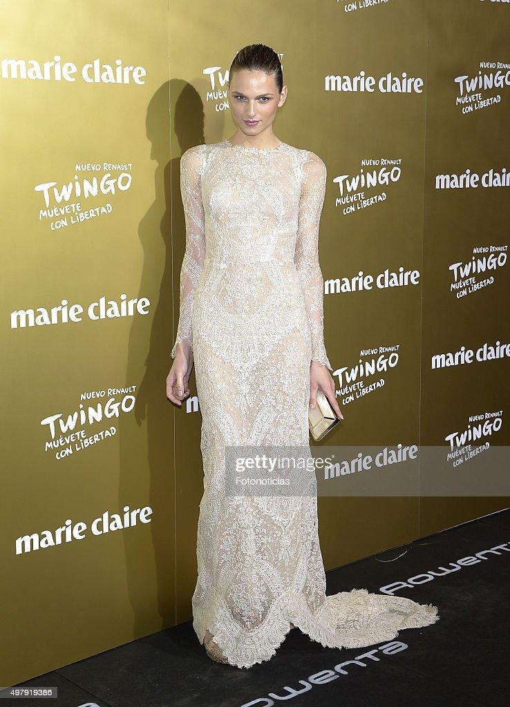 Andreja Pejic attends the 2015 Marie Claire Prix de la Mode at Callao Cinema on November 19 2015 in Madrid Spain