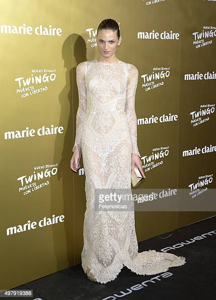 Andreja Pejic attends the 2015 Marie Claire Prix de la Mode at Callao Cinema on November 19 2015 in Madrid Spain