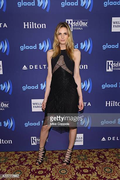 Andreja Pejic attends the 26th Annual GLAAD Media Awards In New York on May 9 2015 in New York City