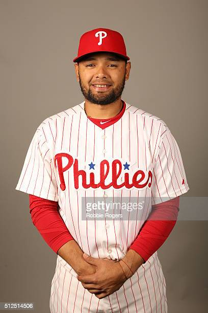 Andres Blanco of the Philadelphia Phillies poses during Photo Day on Friday February 26 2016 at Bright House Field in Clearwater Florida