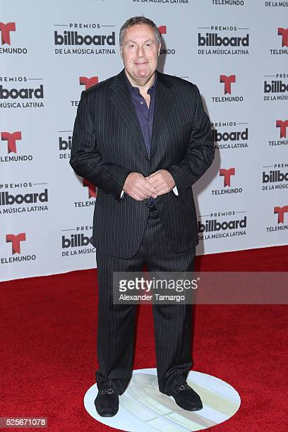 Andres Cantor attends the Billboard Latin Music Awards at Bank United Center on April 28 2016 in Miami Florida