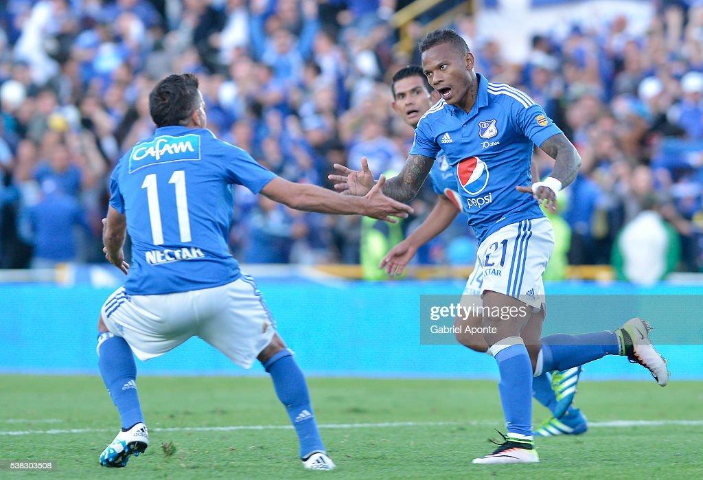 Carlos Ossa Escobar Detail: Millonarios V Junior - Liga Aguila I