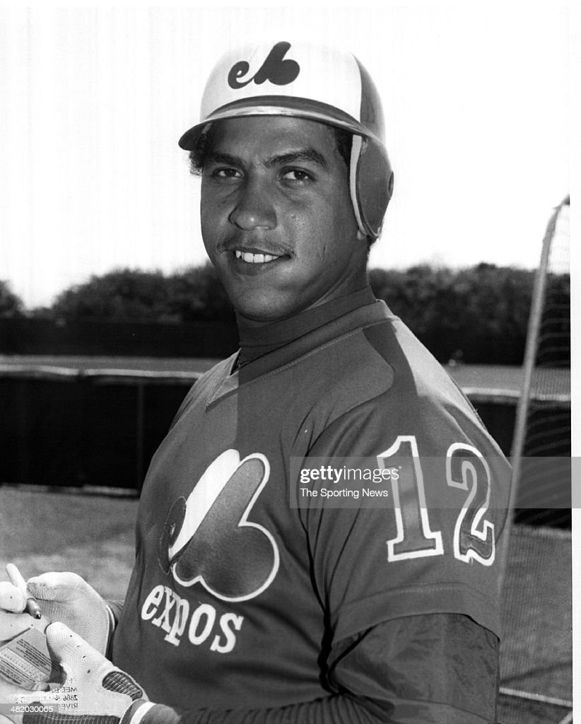 Andres Galarraga of the Montreal Expos poses for a photo circa 1980s