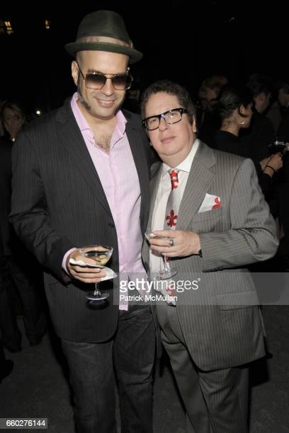 Andres Levin and Ray Smith attend ENRIQUE NORTEN Private Dinner Celebrating the 25th Anniversary of TEN ARQUITECTOS at The Four Seasons Restaurant on...