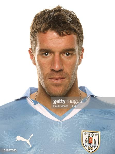 Andres Scotti of Uruguay poses during the official FIFA World Cup 2010 portrait session on June 7 2010 in Kimberley South Africa