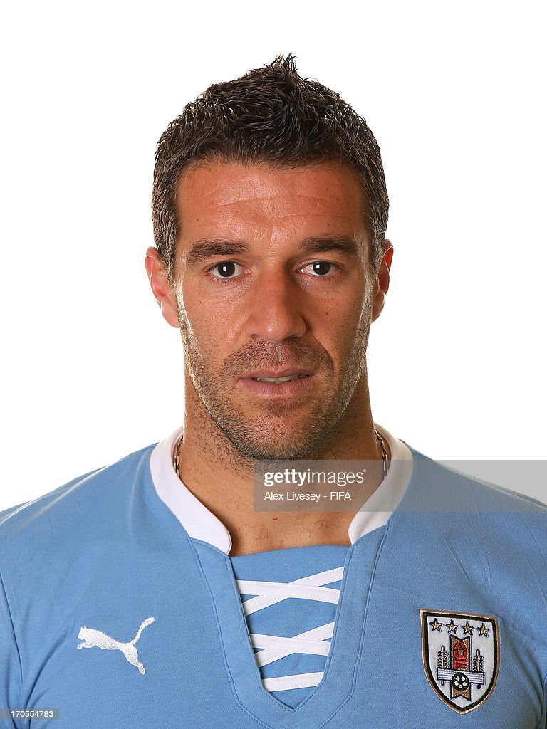 Andres Scotti of Uruguay poses for a portrait at the Mar Hotel on June 14 2013 in Recife Brazil