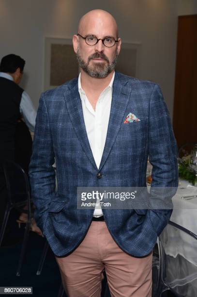 Andres Sosa attends as Harper's BAZAAR and THE OUTNETCOM Celebrate the opening of MoMA's Fashion Exhibit 'Is Fashion Modern' at MOMA on October 12...