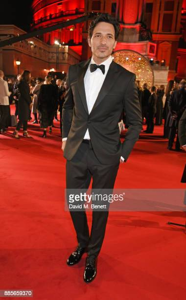 Andres Velencoso attends The Fashion Awards 2017 in partnership with Swarovski at Royal Albert Hall on December 4 2017 in London England