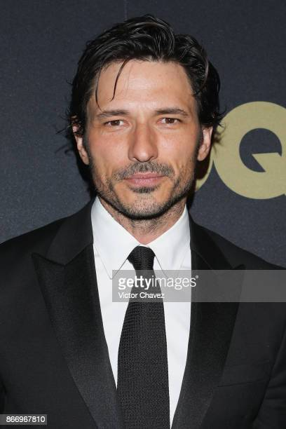 Andres Velencoso attends the GQ Mexico Men of The Year Awards 2017 on October 26 2017 in Mexico City Mexico