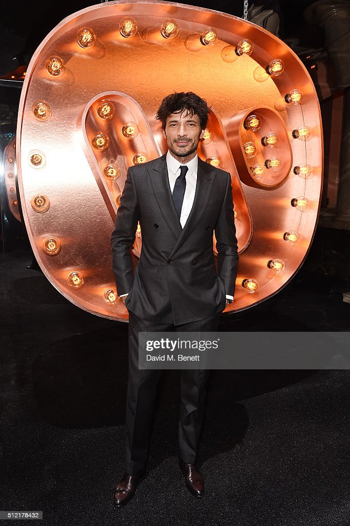 Andres Velencoso attends the Warner Music Group & Ciroc Vodka Brit Awards after party at Freemasons Hall on February 24, 2016 in London, England.