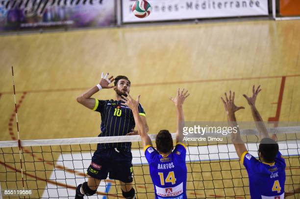 Andres Villena of Toulouse during the Volleyball friendly match on September 22 2017 in Montpellier France