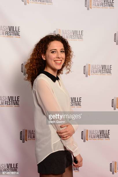 Andrette Lo Conte of the Film 'Penalty' attends the Nashville Film festival on April 28 2017 in Nashville Tennessee