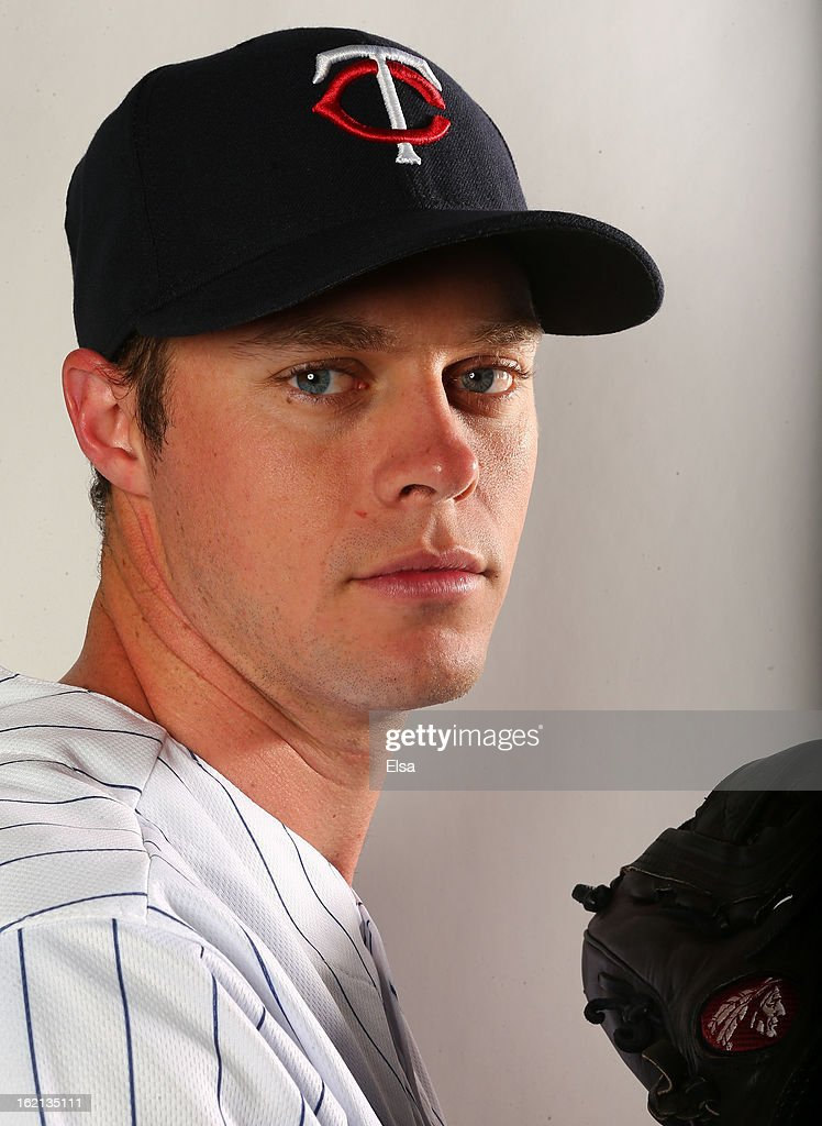 Andrew Albers #95 of the Minnesota Twins poses for a portrait on February 19, 2013 at Hammond Stadium in Fort Myers, Florida.