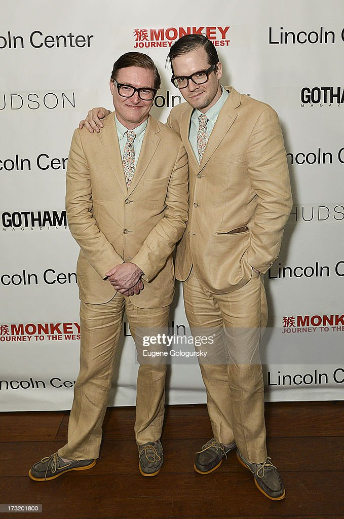 Andrew Andrew attend the Lincoln Center Festival And Gotham Magazine Celebration of Monkey: Journey To The West at Hudson on July 9, 2013 in New York City.