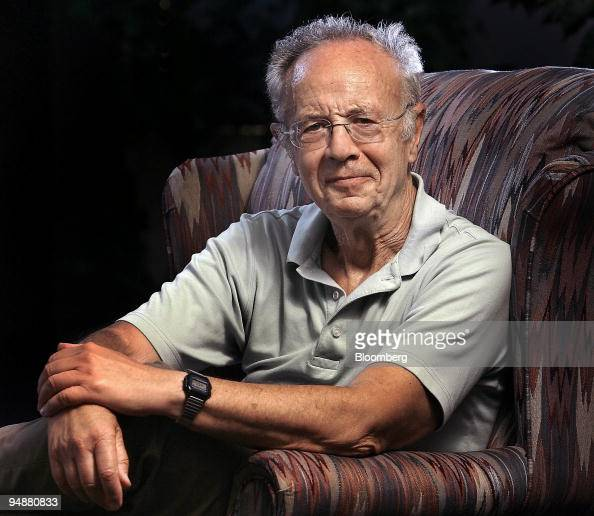 Andrew 'Andy' Grove cofounder and senior adviser to Intel Corp poses before an interview in his office in Los Altos California US on Tuesday July 8...