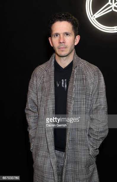 Andrew Armstrong attends the MercedesBenz #MBCOLLECTIVE Chapter 1 launch party with M I A and Tommy Genesis on March 23 2017 in London United Kingdom