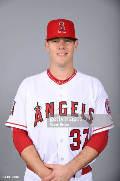 Andrew Bailey of the Los Angeles Angels poses during Photo Day on Tuesday February 21 2017 at Tempe Diablo Stadium in Tempe Arizona