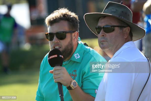 Andrew 'Beef' Johnston looks on during the third round of the Valspar Championship at Innisbrook Resort Copperhead Course on March 11 2017 in Palm...