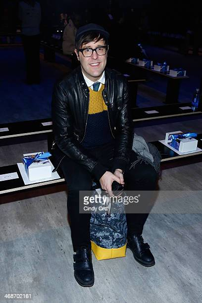 Andrew Bevan attends the Libertine fashion show during MercedesBenz Fashion Week Fall 2014 at The Pavilion at Lincoln Center on February 11 2014 in...