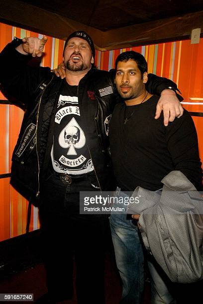 Andrew Bryniarski and Robert Raju attend Marquee's 2005 New Year's Eve Celebration at Marquee on December 31 2005 in New York City