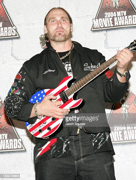 Andrew Bryniarski during MTV Movie Awards 2004 Press Room at Sony Pictures Studio in Culver City California United States