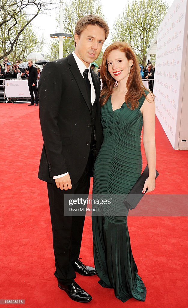 Andrew Buchan (L) and Amy Nuttall attend the Arqiva British Academy Television Awards 2013 at the Royal Festival Hall on May 12, 2013 in London, England.