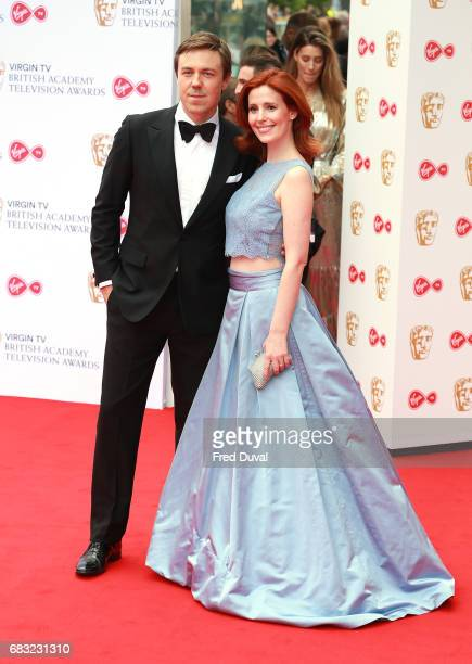Andrew Buchan and Amy Nuttall attend the Virgin TV BAFTA Television Awards at The Royal Festival Hall on May 14 2017 in London England